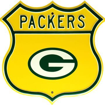 Authentic Street Signs Green Bay Packers Route Sign