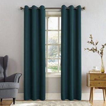 Sun Zero Nolan Blackout Grommet Curtain Panel