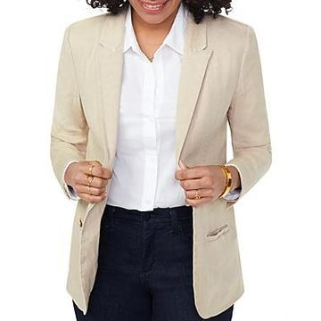 Nydj One-Button Blazer