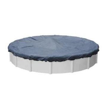Robelle Premium Mesh XL Winter Cover for Round Above-Ground Pools (24' - Blue/Black)