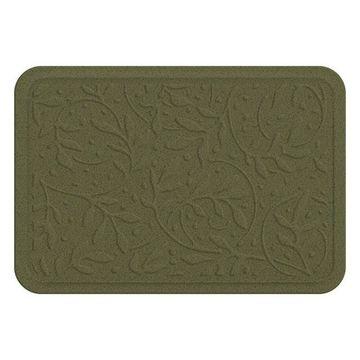 Bungalow Flooring Heavenly Wisteria Leaf Indoor Outdoor Comfort Mat