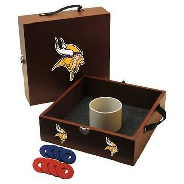 NFL Minnesota Vikings Wild Sports Washer Toss