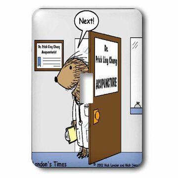 3dRose Top Acupuncturist , Single Toggle Switch