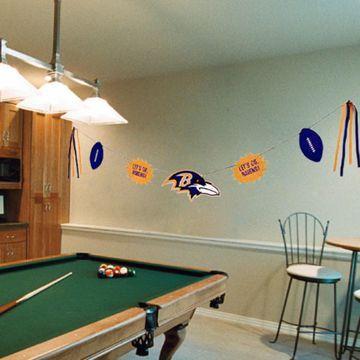Baltimore Ravens Team Celebration Banner