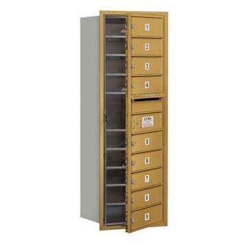 Salsbury Industries 4C Horizontal Mailbox 11-Door High Unit (41