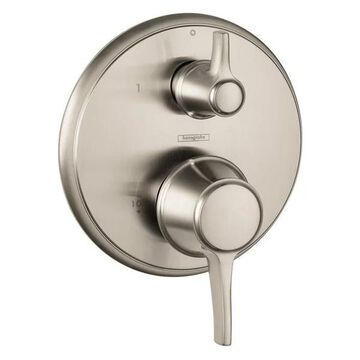 Hansgrohe Brushed Nickel Valve Only Trim With Diverter