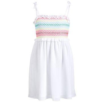Little Girls Smocked Dress, Created for Macy's