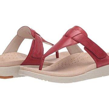 Dansko Cece (Red Burnished Calf) Women's Shoes