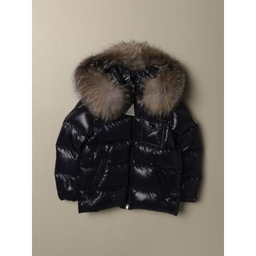 K2 Moncler Down Jacket In Padded And Shiny Nylon
