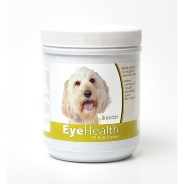 Healthy Breeds 840235145011 Labradoodle Eye Health Soft Chews - 75 Count
