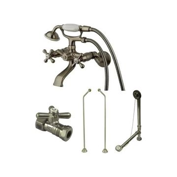 Kingston Brass CCK265D Vintage Tub and Shower Package