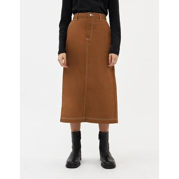 Pierce Skirt in Brown