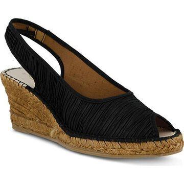 Azura Women's Jeanette Black Textile