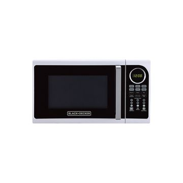 Black+Decker EM925ACP 0.9 Cu. Ft. Digital Microwave, Pull handle