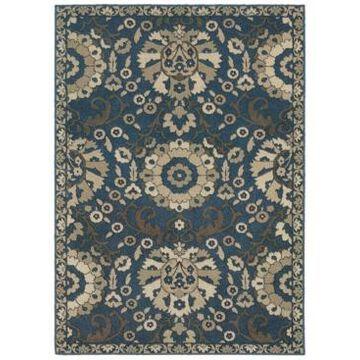 Oriental Weavers Highlands 6682A Midnight/Beige 5'3