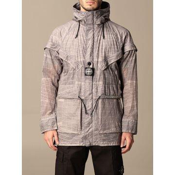 Stone Island jacket in reflective nylon