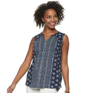 Women's SONOMA Goods for Life Button Down Tank