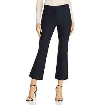 Derek Lam 10 Crosby Cropped High Waist Flared Pants