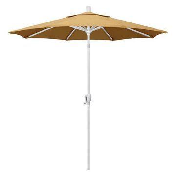 California Umbrella 7.5' Market Patio Umbrella With Push Tilt, Wheat