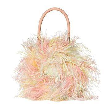 Loeffler Randall Zadie Feather Circle Tote Tote Handbags