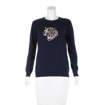 Markus Lupfer Navy Wool Knitwear