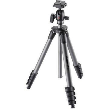 Manfrotto MKCOMPACTADVBH Aluminum Tripod Compact Advanced with Ball Head