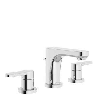 Symmons Museo Two-Handle 8 - 16 Inch Widespread Bathroom Faucet with Pop-Up D...