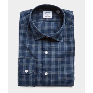 Made in USA Hamilton + Todd Snyder Check Dress Shirt