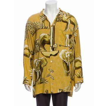 Vintage 1980's Shirt Yellow