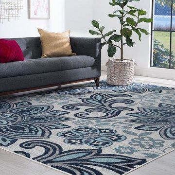 Bliss Rugs Naomi Transitional Indoor Area Rug