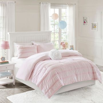 Mi Zone Bella Ruched Reversible Comforter Set