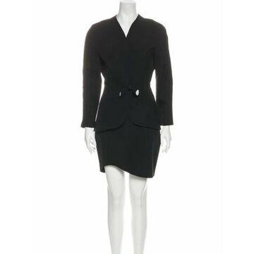 Vintage 1980's Skirt Set Wool