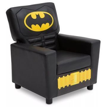 DC Comics& Batman High Back Faux Leather Upholstered Kids Chair