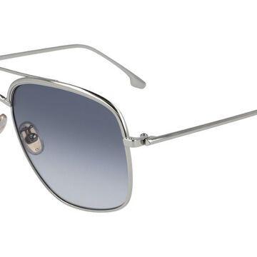Victoria Beckham VB200S 040 Womenas Sunglasses Silver Size 57