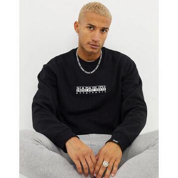 Napapijri Box sweatshirt in black