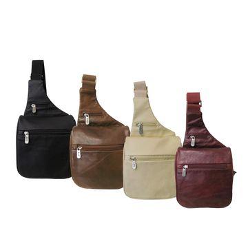Amerileather Convenient Leather Travel Messenger Bag