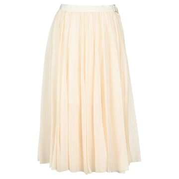 Sacai Midi Pleated Skirt