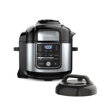 Ninja Foodi 10-in-1, 8 Quart XL Pressure Cooker Air Fryer Multicooker, Stainless, OS405