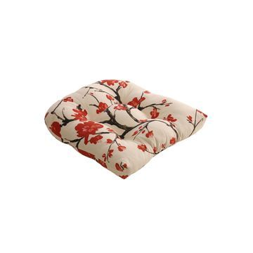 Pillow Perfect Wicker Seat Cushion