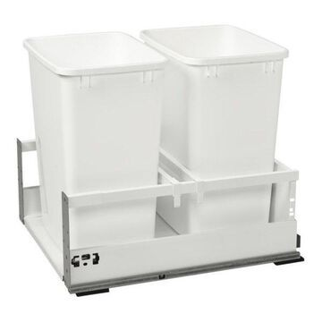 Servo Dbl 35 qt Pullout Waste Container