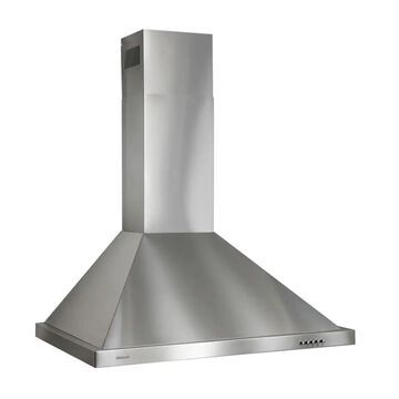 Broan 30-in Convertible Stainless Steel Wall-Mounted Range Hood   B5830SS
