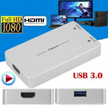 HDMI Video Capture Card USB 3.0 1080p HD Recorder For Game/Video Live StreamiMY