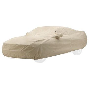 Covercraft Custom Fit Car Cover for Ford Mustang (Technalon Evolution Fabric, Tan)
