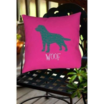 Thumbprintz Woof Indoor/Outdoor Pillow