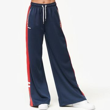 Ellesse Peago Track Pants - Navy Blue / Red
