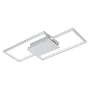 EGLO Milanius 20.47-in Brushed Aluminum Flush Mount Light | 204049A