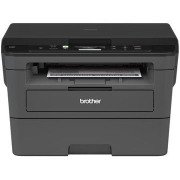 Brother HL-L2390DW Monochrome Laser Printer with Convenient Flatbed Copy & Scan, Duplex and Wireless Printing