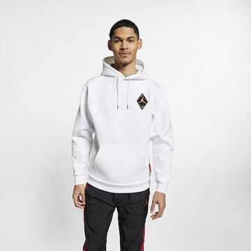 Jordan Retro 6 Pullover Hoodie - White