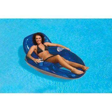 Poolmaster Blue Water Pop Deluxe Lounge