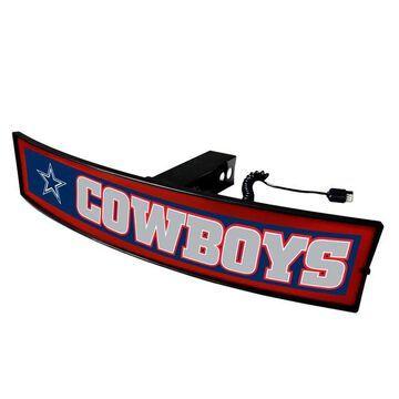 FANMATS Dallas Cowboys Light Up Trailer Hitch Cover